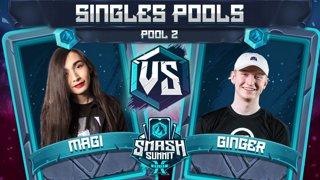 Magi vs Ginger - Singles Pools: Pool 2 - Smash Summit 10 | Falco vs Falco