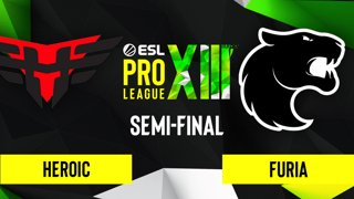 CS:GO - FURIA vs. Heroic [Dust2] Map 2 - ESL Pro League Season 13 - Semi-final