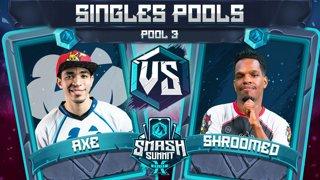 Axe vs Shroomed - Singles Pools: Pool 3 - Smash Summit 10 | Pikachu vs Sheik