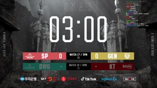 SP vs GEN / DWG vs KT (06.27)