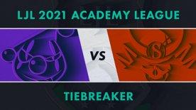 RJ.A vs SG.A LJL 2021 Academy League Tiebreaker Game 1
