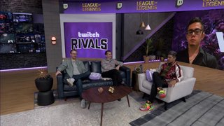 Twitch Rivals: League of Legends Team Draft Showdown - Day 1