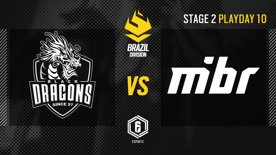 Black Dragons vs. MIBR - LATAM League 2021   Stage 2 - Playday 10   #BR6
