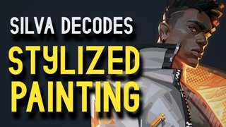 Silva Decodes - Stylized Painting