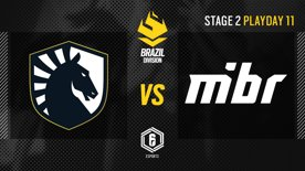 Team Liquid vs. MIBR - LATAM League 2021   Stage 2 - Playday 11   #BR6