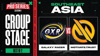 Galaxy Racer vs MG.Trust Game 2 Part 1 - BTS Pro Series 8 SEA: Group Stage w/ MLP & johnxfire