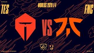 WORLDS 1/4 de finale - FNATIC vs TES - Bo5