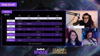 League of Legends Draft Showdown #4 — Team Draft
