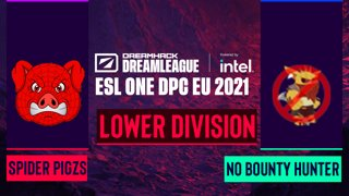 Dota2 - Spider Pigzs vs. No Bounty Hunter - Game 1 - DreamLeague Season 14 DPC: EU - Lower Division