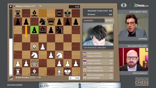 Highlight: Magnus, Giri, Nepo - FIDE World Corporate Championship w/ hosts Hess and Copeland | !corpdonate