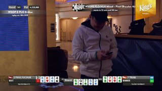 King's Resort - WSOPE PLO/NLH MIXED – Final Table (Bracelet #6)