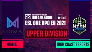 Dota2 - High Coast Esports vs. Nigma - Game 2 - DreamLeague Season 14 DPC: EU - Upper Division