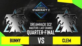 SC2 - Bunny vs. Clem - DH SC2 Masters 2020: Last Chance 2021 - Quarter-final
