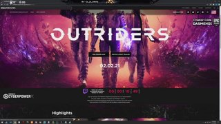 Outriders Broadcast Event w/ dasMEHDI - #sponsored