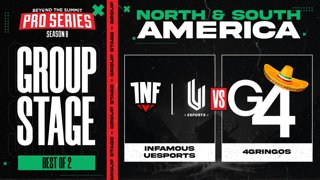 INF.UESPORTS vs 4 Gringos Game 2 - BTS Pro Series 8 AM: Group Stage w/ rkryptic & neph