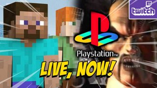 PLAYSTATION LEGACY - Minecraft Smash Review - PS5 Teardown!? !nzxt !ads (10-7)
