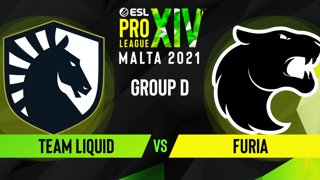 CS:GO - FURIA vs. Team Liquid [Nuke] Map 2 - ESL Pro League Season 14 - Group D