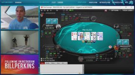 High Stakes Cash Game on PokerStars with Bill Perkins !pokershares