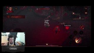 TESTING CANCELLED 9.1 Tank P.R.E.P | Diablo Immortal Later | !ROOM !GFUEL !STORE | Follow @towelthetank