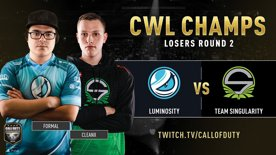 Luminosity vs Team Singularity | CWL Champs 2019 | Day 4