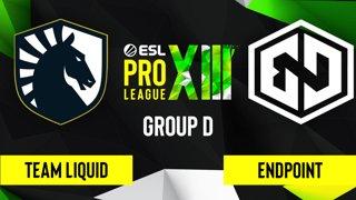 CS:GO - Endpoint vs. Team Liquid [Inferno] Map 1 - ESL Pro League Season 13 - Group D