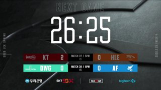 KT vs. HLE - DWG vs. AF [2020 LCK Spring Split]