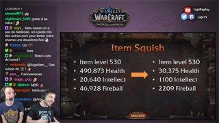 World of Warcraft #BFA : Patch 8.0 Retrait des armes artefacts !
