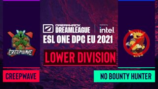 Dota2 - Creepwave vs. No Bounty Hunter - Game 2 - DreamLeague Season 14 DPC: EU - Lower Division
