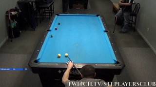 Two Balls Banked at Once! by Brendan