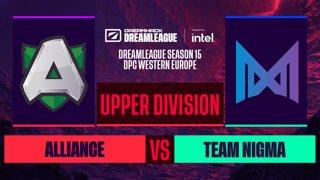 Dota2 - Alliance vs. Team Nigma - Game 1 - DreamLeague S15 DPC WEU - Upper Division