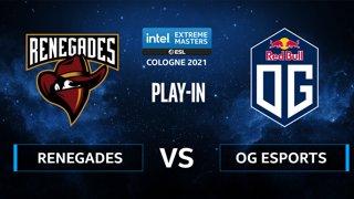 CS:GO - Renegades vs OG Esports [Nuke] Map 1 - IEM Cologne 2021 - Play-In