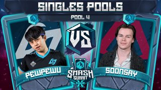 PewPewU vs Soonsay - Singles Pools: Pool 4 - Smash Summit 10 | Marth vs Fox