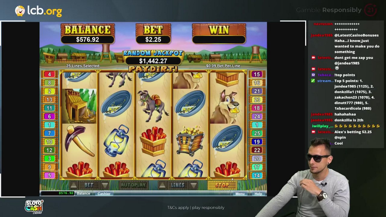Paydirt Slot Review From Real Time Gaming