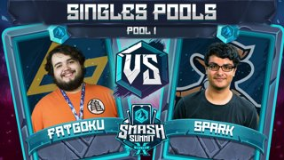 FatGoku vs Spark - Singles Pools: Pool 1 - Smash Summit 10 | Fox vs Sheik