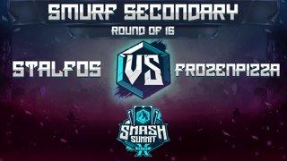 Stalfos vs FrozenPizza - Smurf Secondary: Round of 16 - Smash Summit 10 | Fox vs Ice Climbers
