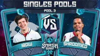 iBDW vs Shroomed - Singles Pools: Pool 3 - Smash Summit 10 | Fox vs Sheik
