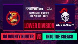 Dota2 - Into The Breach vs. No Bounty Hunter - Game 2 - DreamLeague S15 DPC WEU - Lower Division