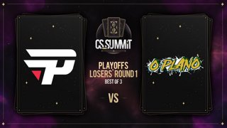 paiN vs O Plano (Dust 2) - cs_summit 8 Playoffs: Losers' Round 1 - Game 3