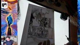 In evidenza: Mangaka at work! (inking night)
