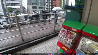 JPN, Tokyo | Friday and raining | !socials