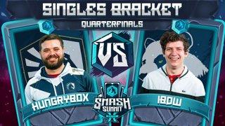 Hungrybox vs iBDW - Singles Bracket: Quarterfinals - Smash Summit 10 | Puff vs Fox