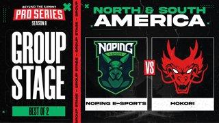 NoPing vs Hokori Game 1 - BTS Pro Series 8 AM: Group Stage w/ rkryptic & neph