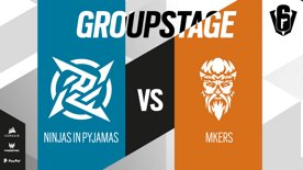 Ninjas in Pyjamas VS Mkers // SIX INVITATIONAL 2021 – Group stage – Day 2
