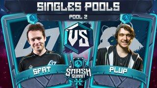 SFAT vs Plup - Singles Pools: Pool 2 - Smash Summit 10 | Fox vs Fox
