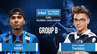 CS:GO - FURIA vs. Team Liquid [Overpass] Map 1 - IEM Global Challenge 2020 - Group B