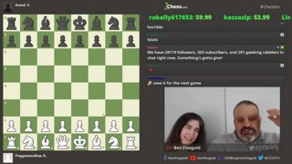 Ben analyzes Anand vs Praggnanandhaa