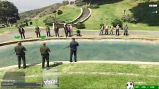 Police Funeral on server 2