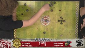Blood Bowl – Lizardmen vs Dark Elves