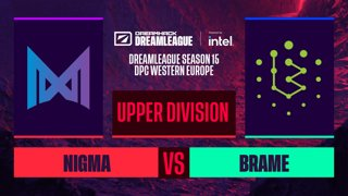 Dota2 - Nigma vs. Brame - Game 3 - DreamLeague S15 DPC WEU - Upper Division
