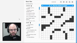 I get it now (man who does not get it) (Crosswords)
